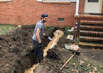Plumber Chesapeake Va New Water Line