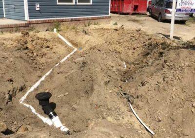 Plumber Chesapeake Va Water Line Drain 1